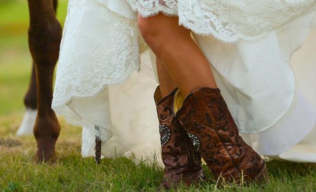 WEDDING: 10x mooie trouwfoto's van paardenmeisjes