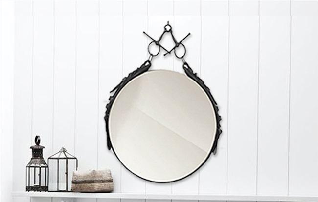 DIY IDEE: Leren equestrian spiegel