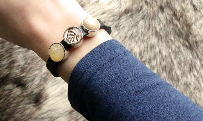 FASHION MUSTHAVE: Slider armband met paardenhaar