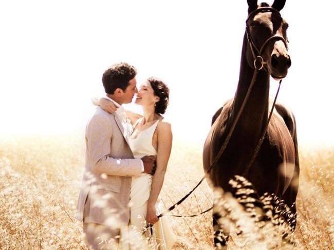 WEDDING: 10x mooie trouwfoto's van paardenmeisjes #3