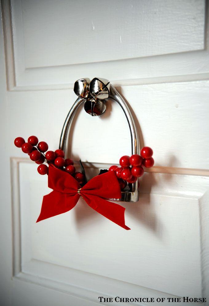 kerst decoratie paardenmeisjes