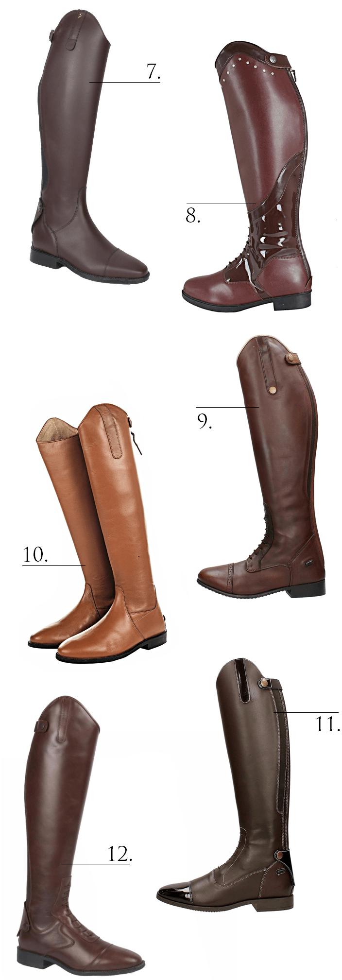 Bruine laarzen budget