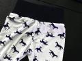 Baby legging paardenprint