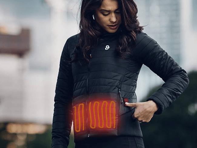 KOUKLEUMEN OPGELET: Deze jas heeft verwarmingselementen