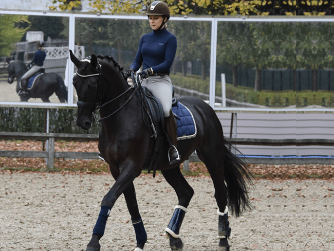 RIDING OUTFIT OF THE DAY: De gouden combinatie van blauw en bruin