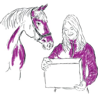 pumps en paarden